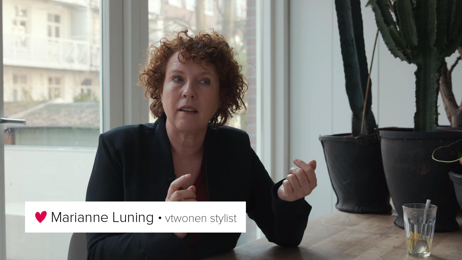 Marianne Luning Vtwonen stylist inhuren